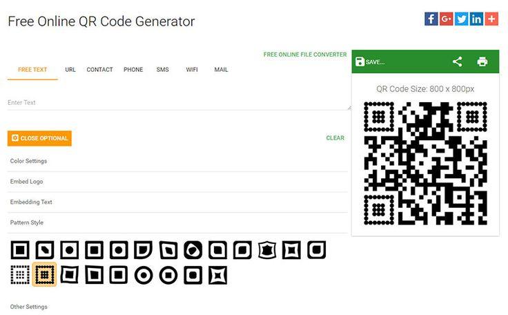 5 buenos generadores de #códigos de barras y #QR #online