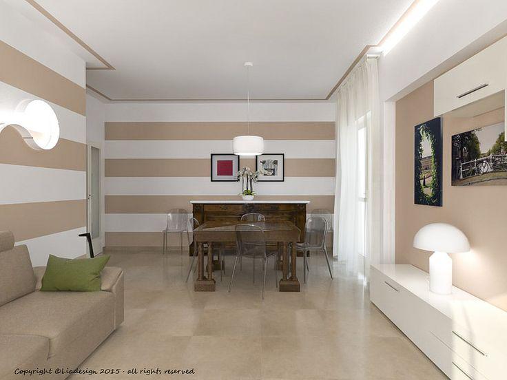 1000+ idee su Pareti A Righe su Pinterest  Arredamento camera dorata, Decorare camere da letto ...
