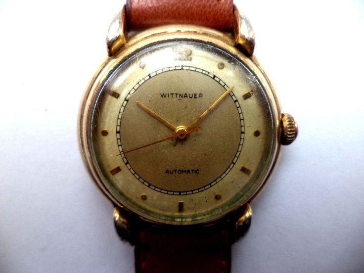 Vintage Wittnauer Longines Bumper 11 AW Men s Automatic Watch 10 KGF Swiss Run