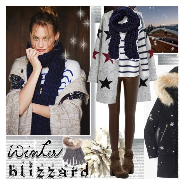 Winter Blizzard by stylepersonal on Polyvore featuring polyvore, fashion, style, J.Crew, Ralph Lauren Black Label, Manas, Free People, Inverni and blizzard