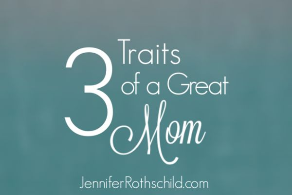 """With Mother's Day just around the corner, I started thinking about what makes a great mom. I decided there are 3 B's. Now, B could stand for """"brainy,"""" and that would be a great quality for a mom. Or, it could begin the word """"beautiful,"""" and who among us wouldn't want that adjective describing us? […]"""