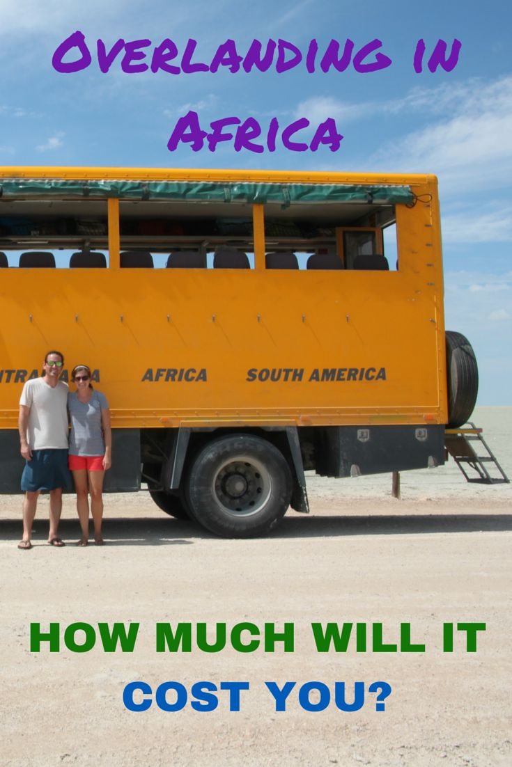 Many people think a trip to Africa is not a reality based on cost. However, we found a budget friendly option that offers a unique perspective of the continent. Overland travel in Africa allows travelers to see more than just the traditional tourist hot spots. We've broke down our overland trip spending, so you can get an idea as to how much it will really cost you.