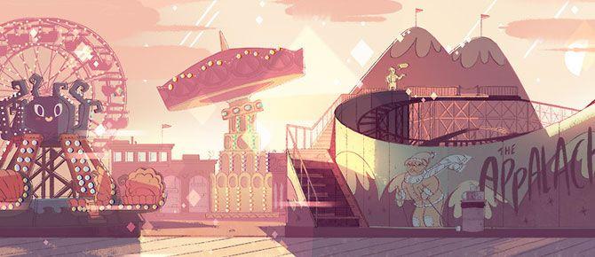 Mais artes de Steven Universe, da Cartoon Network