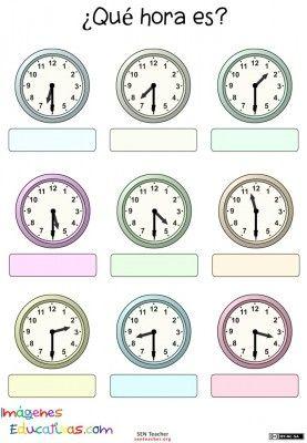 Trabaja las horas y los relojes  (11)