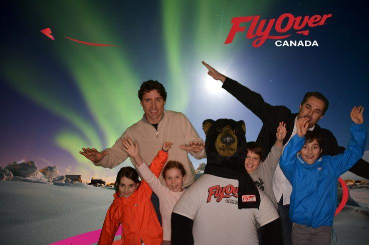Prime Minister Trudeau FlyOver Canada 2