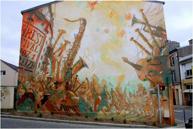 Artă urbană. Franţa