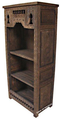Moroccan Book Shelves