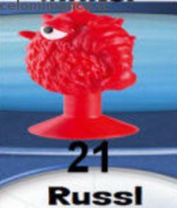 LIDL Stikeez 2015: Fronte Figurina n. 21 Russl