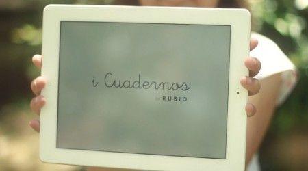 Los cuadernos Rubio se modernizan adaptando sus ejercicios al iPad #educacion #infancia #tecnologia