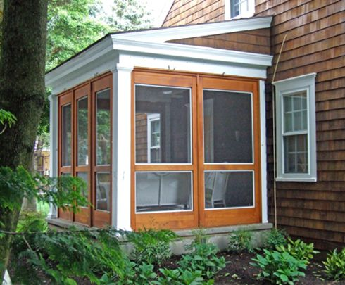 Screened Porch Kits Cost | Enclosing An Attached Porch/deck As A Sunroom    Roofing