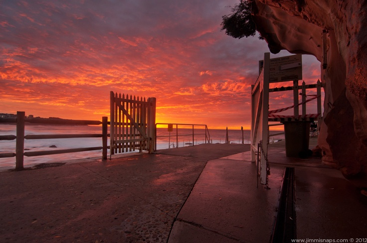 Gates of heaven, Bronte beach. This image is available to buy, just follow the link.