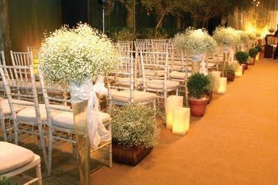 decoração de casamento: igreja      Wedding decoration: Church