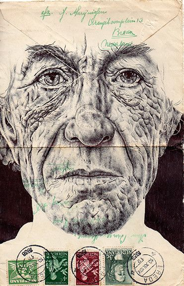 Portfolio - Mark Powell Biro Drawings