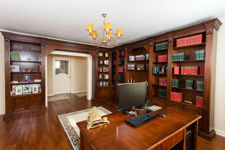 Mobila / Mobilier Biblioteca Elena clasica lemn masiv 3