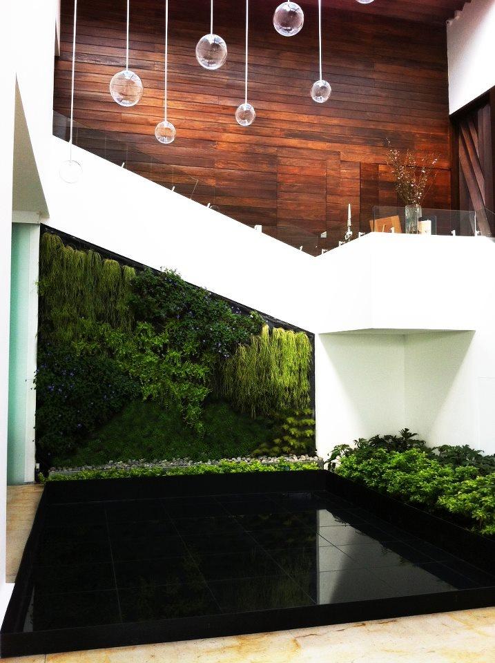 115 best jardines verticales images on pinterest gutter - Jardines verticales interior ...