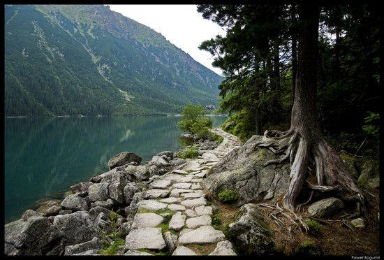 Morskie Oko, the Tatra Mountains, Poland - via National Geographic