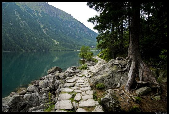 Morskie Oko, the Tatra Mountains, Poland - via National Geographic