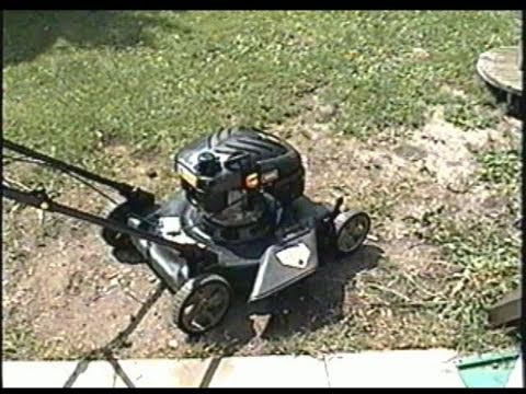 How to change a lawnmower blade