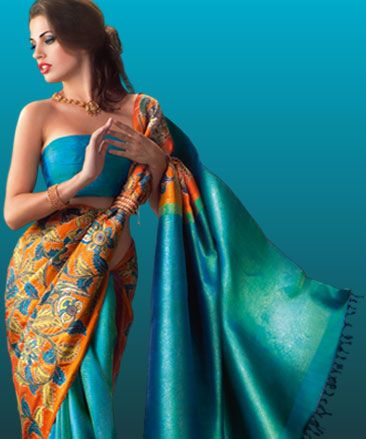 Designer #Saree-s from Sakhi Fashions...for the Exotic Indian Touch