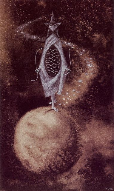 'El otro reloj' (The Other Timepiece) 1957 Remedios Varo by MiriamMinx, via Flickr