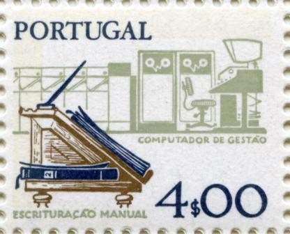 A Portuguese postage stamp