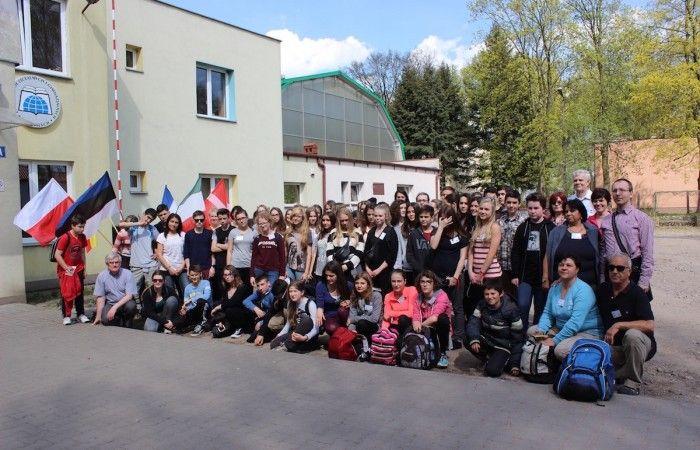 Project participants: #ZSLGRataje (Poland), #Floridablanca (Spain), #Inverigo (Italia), #Tartu (Estonia), #Vienne (France), #Roskilde (Dania)