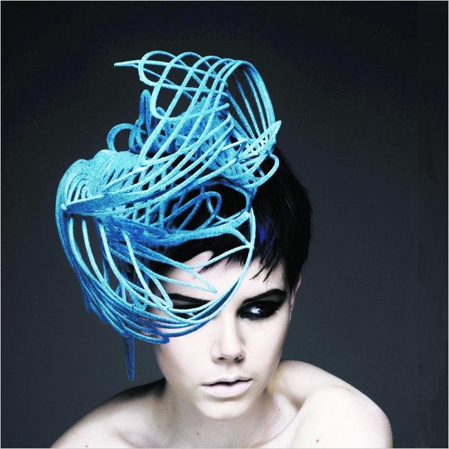 Masterproject Grafisch Ontwerp: Beweging in hoeden