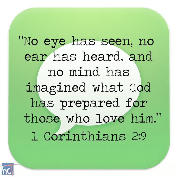 Bible Verse ~ 1 Corinthians 2:9