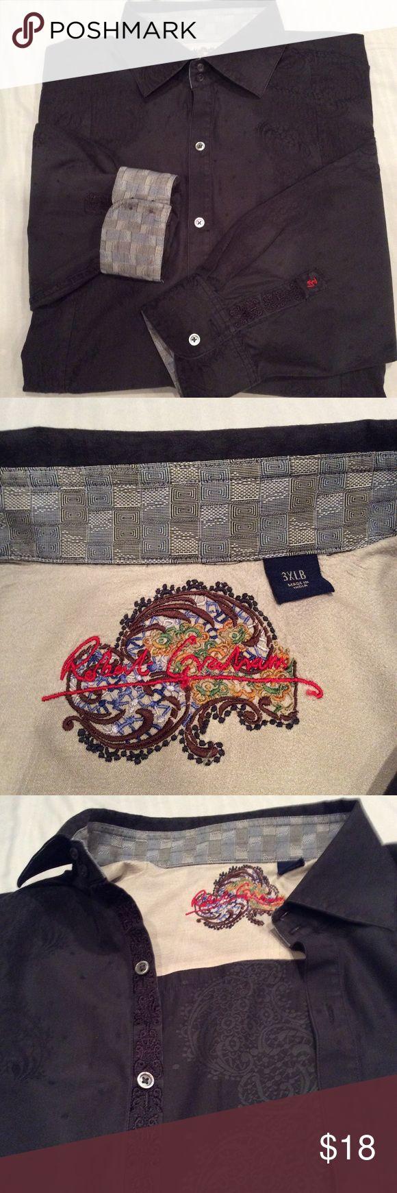 Men's dress shirt Robert Graham 3XLB Brand is Robert Graham Robert Graham Shirts Dress Shirts