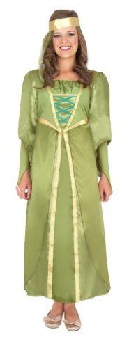 Bought for Megan's birthday and our upcoming trip to Nottingham. Medieval Maiden Costume includes Dress and Headband (Medium) Smiffy's http://www.amazon.co.uk/dp/B004E5818K/ref=cm_sw_r_pi_dp_Mtn1tb0E5G31ERV0