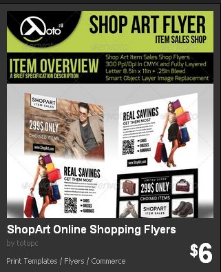 Shop Art Online Shopping Flyers  Shop Art Online Shopping Flyers for your sale or discount advertising, posting, or promotion.
