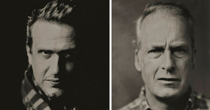 Instead Of Photographing Hollywood Stars With DSLR, Artist Uses Vintage Tintype Camera | Bored Panda