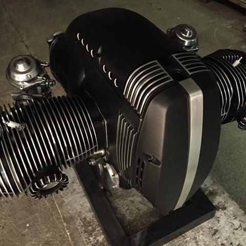 The mother of all engines is getting pretty for the next week's photo session! Stay tuned! #vintageroommotorcycles #bmwr80 #bmw #bmwmotorrad #bmwcustom #caferacer #cafescrambler #bmwboxer #custommotorcycle #polishedaluminum