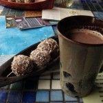 Cacao truffles and a café mocha, Up In The Hill, Isla Bastimentos, Panama