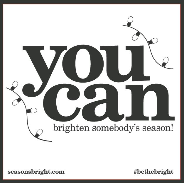 Brighten somebody's season by making a donation to Enviros. www.seasonsbright.com
