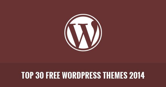 Top 30 Free WordPress Themes 2014