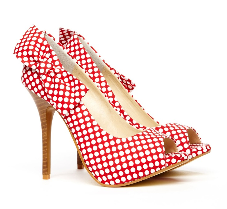 Prince Polka Dot Bow Pumps XZe4U