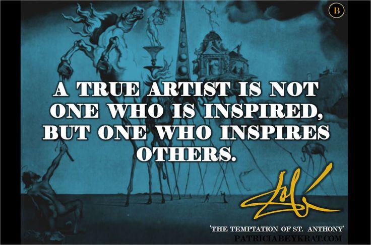 Dali on inspiration