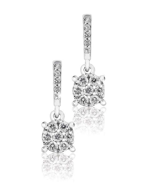 18ct Gold Diamond Earrings R5,460  *Prices Valid Until 25 Dec 2013
