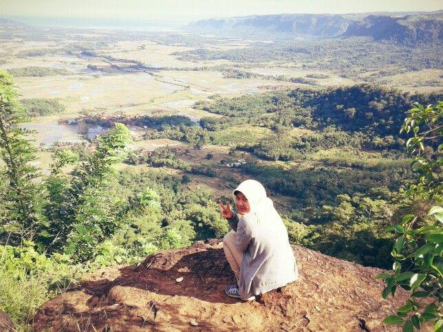 Bukit Paninjoan, Geopark Ciletuh
