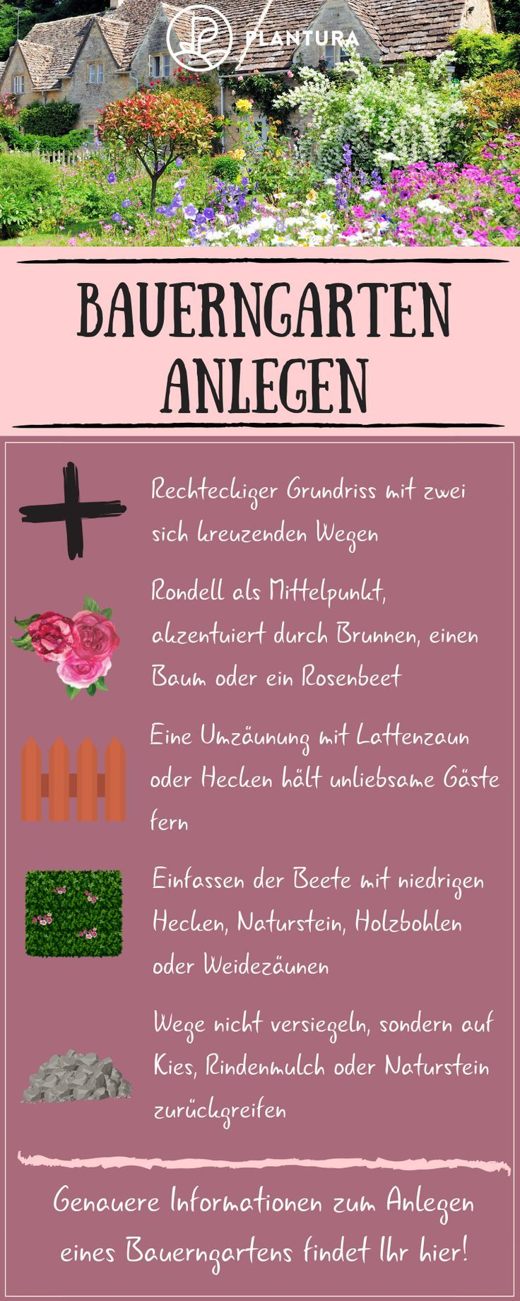 Bauerngarten: The best plants and tips for mooring