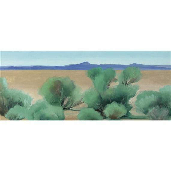 Georgia O'Keeffe, TAOS, NEW MEXICO