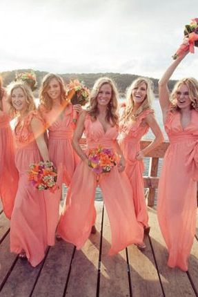 Bridesmaid Jumpsuits Are the Greatest Thing to Happen to Weddings via @PureWow