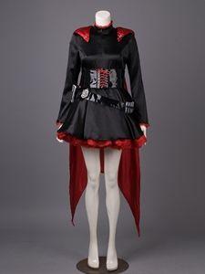 RWBY RWBY-Red Trailer Ruby Rose Cosplay Costume mp003422