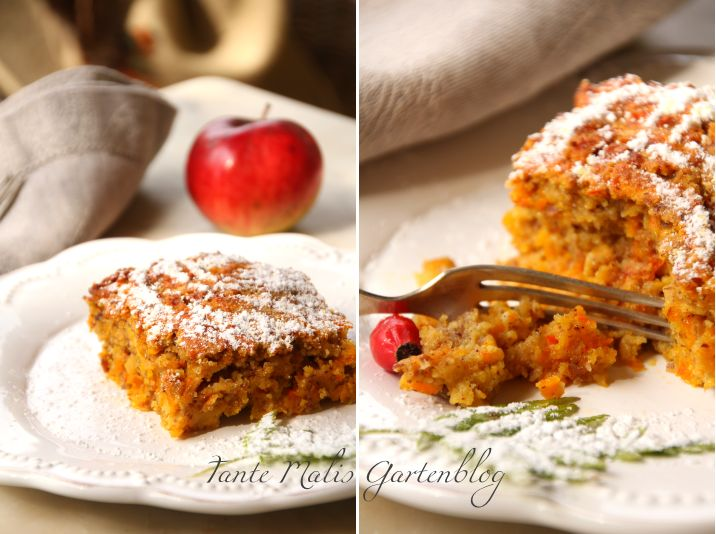 Kürbis-Apfelkuchen