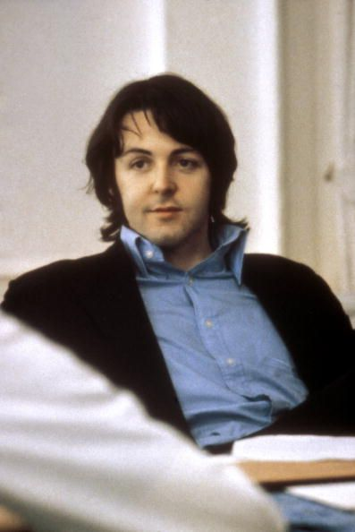 Paul McCartney (at the Apple offices in 1969) (Photo by Tom Hanley/Redferns)  (courtesy of thegilly.tumbler.com)