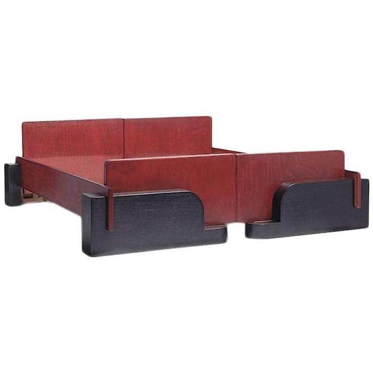 art deco modern furniture. Art Deco Double Bed Dutch Modern Furniture M
