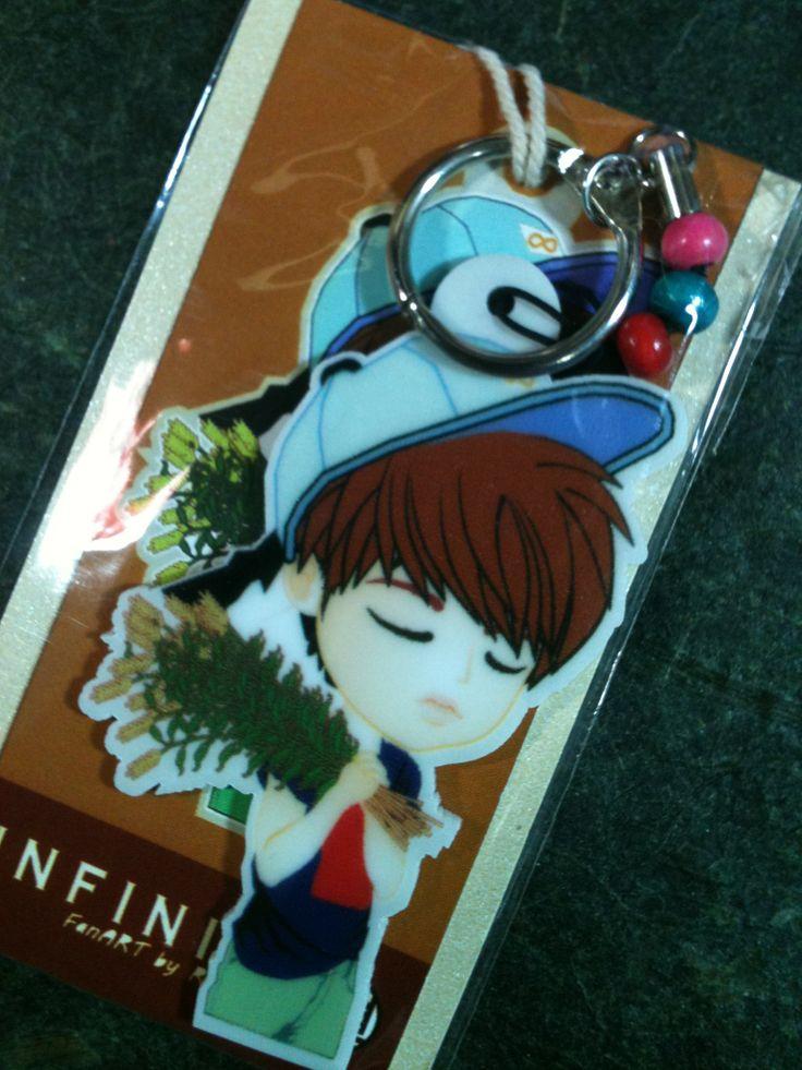 #WooHyun Gardener Edition - Key Chains Torso