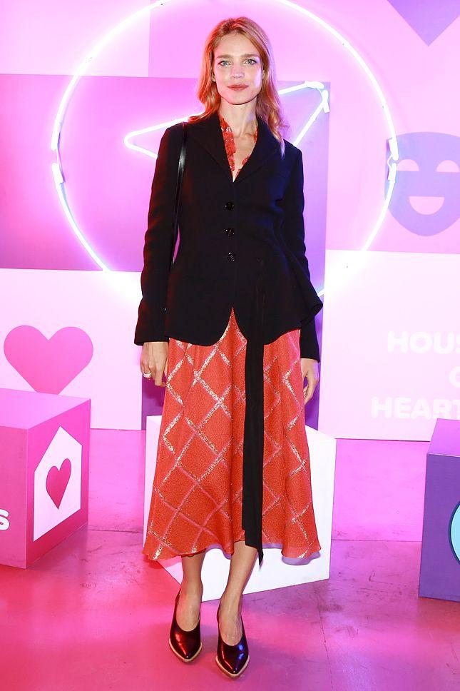Наталья Водянова на благотворительном фестивале House of Hearts