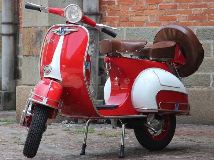 Gallery For Red Vespa